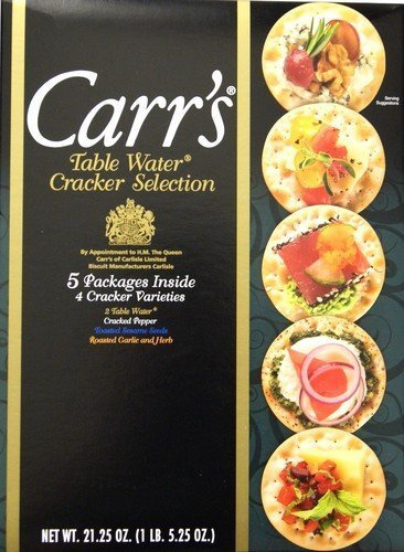 Carr's Medley Cracker Tray, 21.25 Oz Box by Carr's