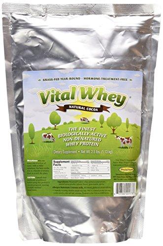 Vital Whey Natural Cocoa,2.5 lbs