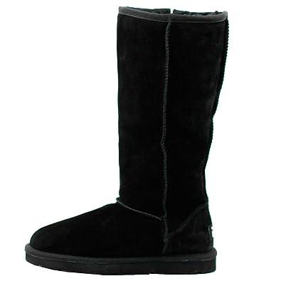 6f15dc3eb23 WARATAH UGG® Water Resistant Tall Zip Up Boot - Black (10W/8M ...