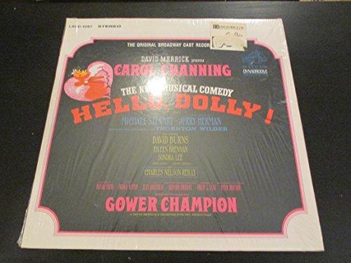 HELLO, DOLLY! - THE ORIGINAL BROADWAY CAST RECORDING - WITH CAROL CHANNING - vinyl lp. (Hello Dolly Music Lyrics)