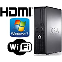 DELL Optiplex 330 Desktop with HDMI Computer- New 1TB HDD - Core 2 Duo 2.13Ghz - 4GB of Memory - Windows 7 Home - 1GB Graphics Card- Refurbished