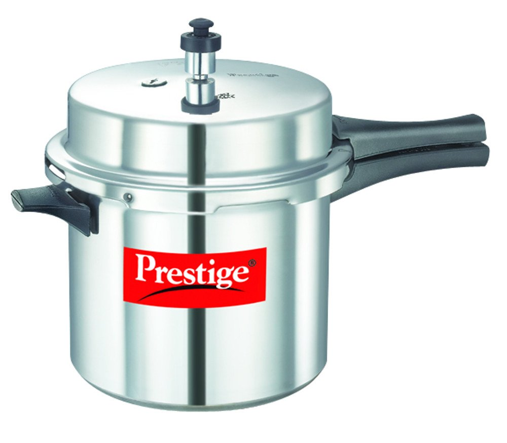 Prestige PPAPC6 Popular Pressure Cooker, 6 Liter, Silver