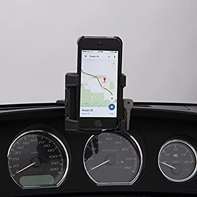CIRO 50317 Smartphone/GPS Holder (Black Fairing Mount Without Charger for 2014-2016 Flht/Flhx Touring Models): Ciro: Automotive