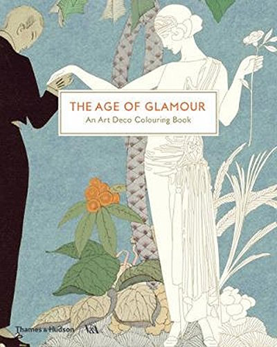 - The Age of Glamour: An Art Deco Coloring Book