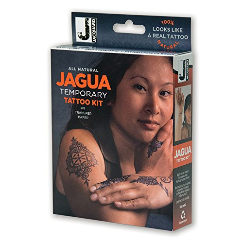 Jacquard Jagua Temporary with Transfer Paper Tattoo Kit (8 Piece) by Jacquard