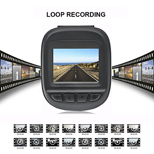 MDTEK@ HD 1080P 1 5 inch TFT LCD 150° wide viewing angle with 6-layers  glass lens Novatek 96223 Car Dash Camera Loop Recording Vehicle Dashboard  DVR