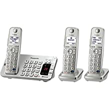 PANASONIC KX-TGE273S Dect 6.0 Link2cell Bluetooth Phone System (3-Handset System)