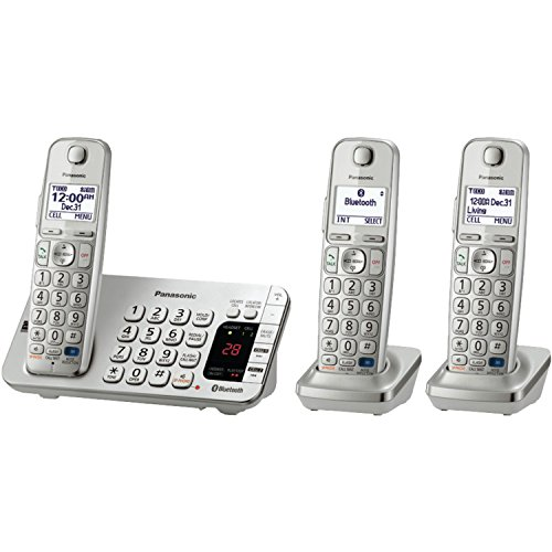 Panasonic KX-TGE273S Link2Cell Bluetooth Enabled Phone with