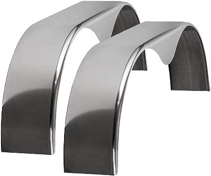 Aluminum, 2-Pack 72x9 Smooth Aluminum Tandem-Axle Teardrop Trailer Fender