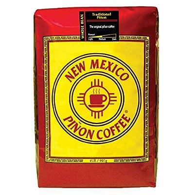 New Mexico Piñon Coffee Traditional Piñon, Whole Bean, 2lb by New Mexico Pinon Coffee