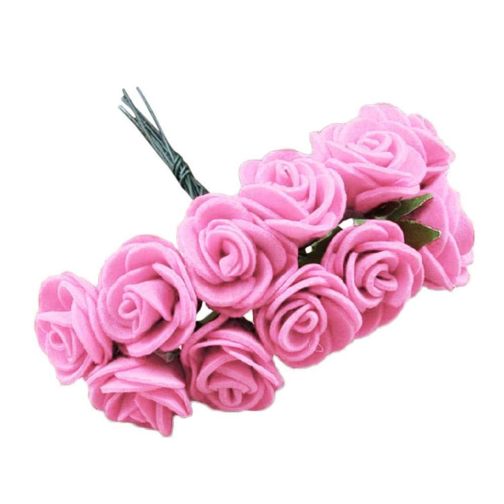 Amazon.com MARJON Flowers12Pcs Mini Fake Foam Rose