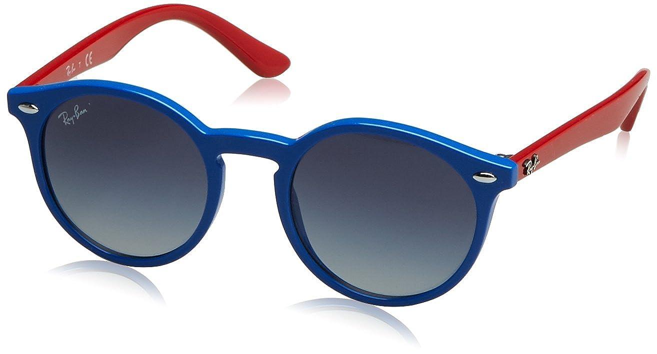 RAY-BAN JUNIOR 9064s Gafas de sol, Blue, 44 Unisex-Niño