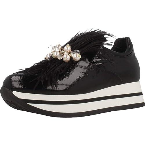 best service 82250 7a781 Tosca Blu (Bergen Sneaker Slip On Pelle Nappalak Pelliccia ...