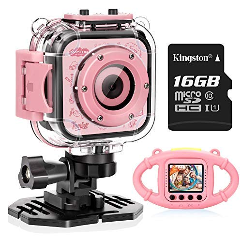 Pink Digital Waterproof Camera - 4