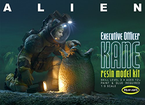 Polar Lights Resin Alien Executive Officer Kane Figure
