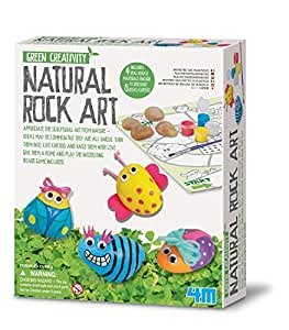 Green creativity natural rock art kids for Amazon arts and crafts for kids