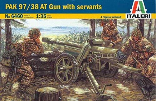 Italeri 1:35 WWII German Pak 97/38 AT Gun with Crew Servants