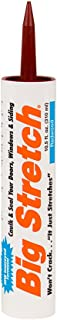 product image for Sashco 10012 10.5oz Sashco Sealants 10.5-Ounce Redwood Big Stretch Caulk & Seal, 10.5-Ounce