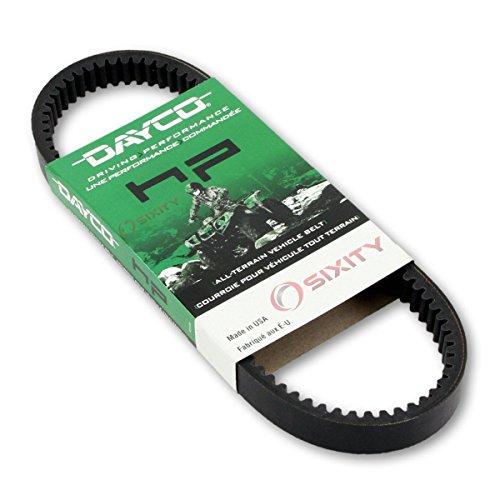 1993-2000 Kawasaki KAF620 Mule 2510 4x4 Drive Belt Dayco HP ATV OEM Upgrade Replacement Transmission Belts