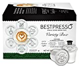 Bestpresso Coffee, Variety Pack Single Serve K-Cup, 72 Count (Compatible with 2.0 Keurig Brewers)