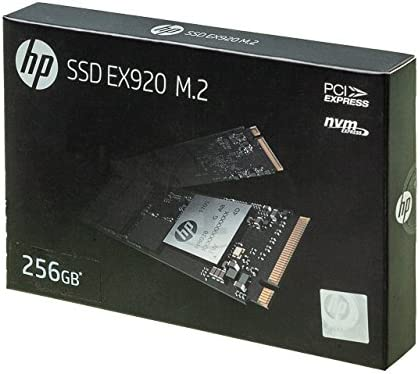 HP Hewlett Packard 2YY45AA#ABB - Disco Duro Interno SSD de 256 GB ...