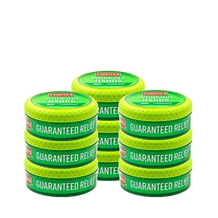 大量父方の小数O ' Keeffe 's Working Hands Hand Cream, 3.4オンス、Jar 9 - Pack K0350002-9 9