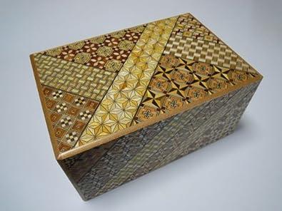 Japanese Puzzle Box – 7 sol 9 Pasos Koyosegi: Amazon.es: Joyería