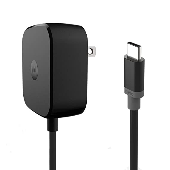 Turbo Quick Wall Charger with Type-C Cable Motorola TurboPower 15 USB-C/