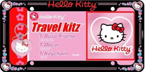 hello kitty car accessories kit - 5