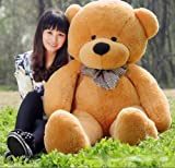 "80CM /GIANT HUGE BIG ""brown""TEDDY BEAR PLUSH SOFT TOYS DOLL GIFT Stuffed Animal"