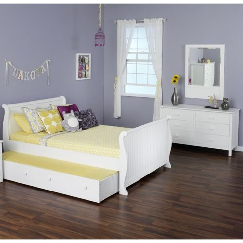 Olivia 3-piece Twin Sleigh Trundle Collection
