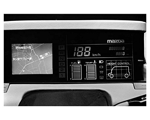 1985 Mazda Telecom Delivery w/ Navigation System ORIGINAL Factory Photo