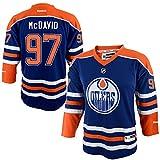 Connor McDavid Edmonton Oilers Blue Infants 12M-24M Reebok Home Replica Jersey