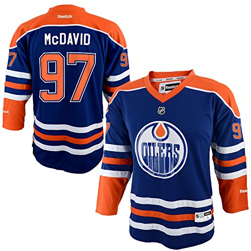 Connor McDavid Edmonton Oilers Blue Infants 12M-24M Reebok Home Replica ()