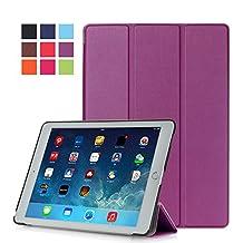 Protection Housse pour Apple iPad Air 2 9.7 Pouce Smart Slim Case Book Cover Stand Flip iPad 6 (Violet) NEUF