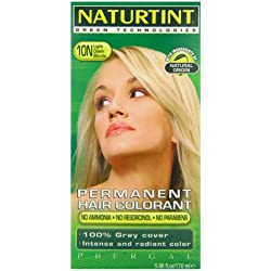 Naturtint Hair Color Permanent, 10N Light Dawn Blonde, 5.28 Ounce