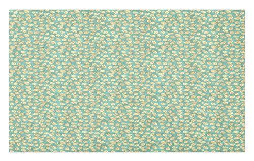 GugeABCmat Doormats,Painting Natural Oil Artwork Cloudy Scenery,Inside Door Mats 48