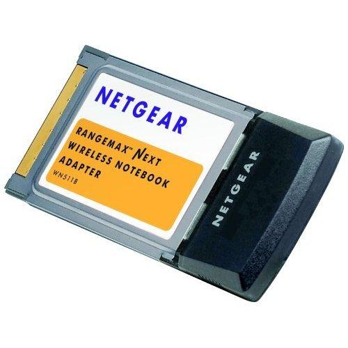 Netgear WN511B 802.11n Rangemax Next Wireless Notebook Adapter (Notebook Next Rangemax Netgear Wireless)