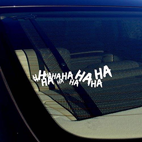 joker car window decal - 5