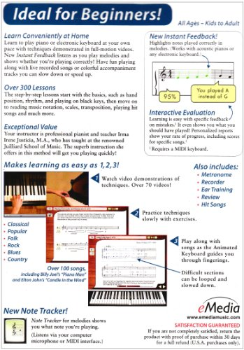 eMedia Piano and Keyboard Method v3 - KAUF COM is exciting!