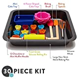 Pop Kid's 30-Piece Real Nonstick Bakeware and