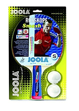 JOOLA Rosskopf Smash Pala de Tenis de Mesa, Unisex Adulto, Multicolor, Talla Única