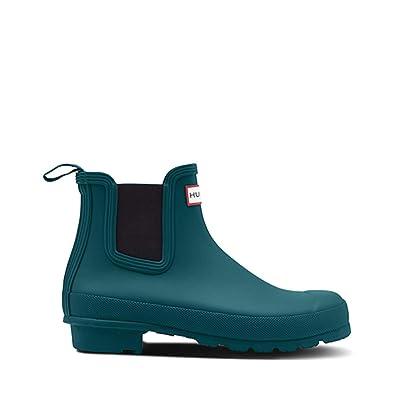 Hunter Women's Original Chelsea Rain Boots in Galvanize Size