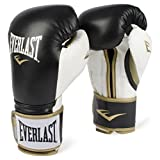 EVERLAST PowerLock Training Gloves blk/Wht PowerLock Training Gove, Black/White, 16 oz