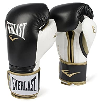 Everlast-PowerLock-Training-Gloves-blkWht-PowerLock-Training-Gove-BlackWhite-16-oz
