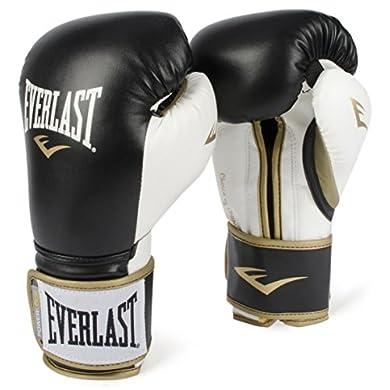 Everlast-PowerLock-Training-Gloves-blkWht-PowerLock-Training-Gove-BlackWhite-16-oz