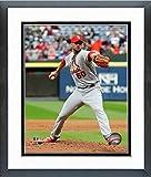 "Adam Wainwright St. Louis Cardinals MLB Action Photo (Size: 12.5"" x 15.5"") Framed"
