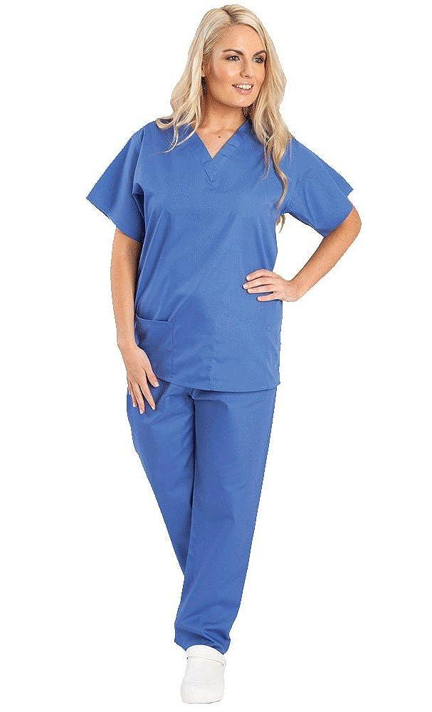 Camisa y Pantalon Uniforme Medico Unisex- Varios Colores: Amazon.es: Ropa y accesorios