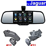 SZSS-CAR Touch Screen Car Rear View Mirror DVR GPS Bluetooth WIFI for Jaguar XF XJ XK F-Pace X-Type S-Type XKR2012 Android Auto Monitor