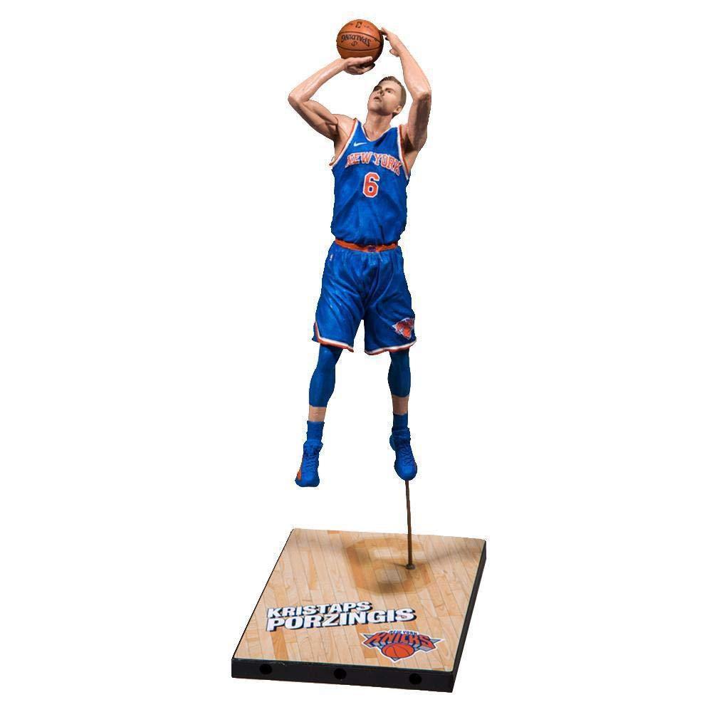 fcd162bcfb1 Amazon.com: McFarlane NBA 2K19 Series 1 Kristaps Porzingis York Knicks:  Toys & Games